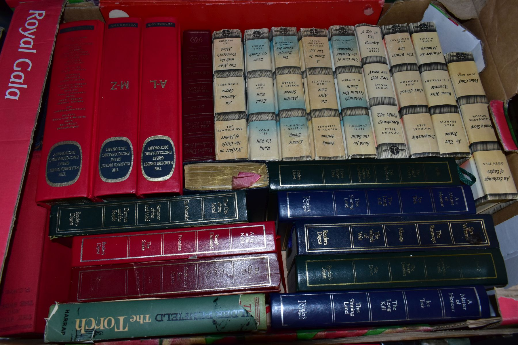 BOOKS, five boxes containing 160 titles including Atlases, cookery , animals, health, woodwork, - Image 4 of 7