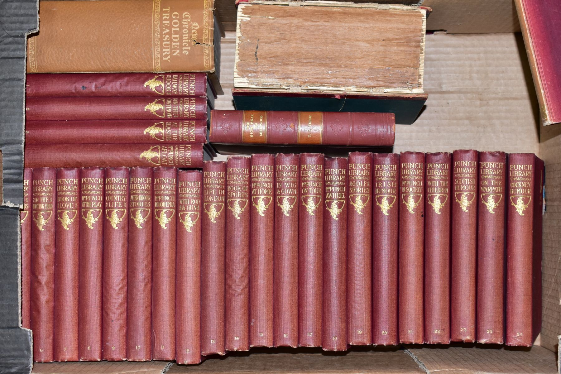 BOOKS, three boxes containing approximately sixty two titles including Reference, Furniture, - Image 3 of 4