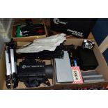 PHOTOGRAPHIC EQUIPMENT ETC, to include Multiblitz Profilite 200 studio flash set in hard case,
