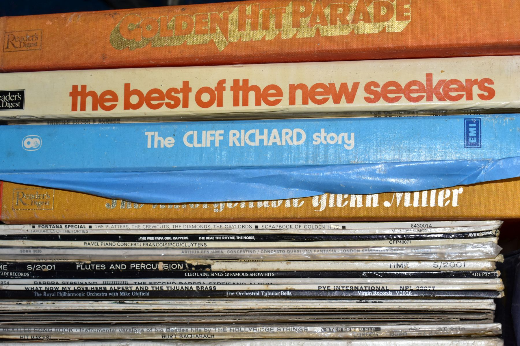 TWO TRAYS CONTAINING OVER ONE HUNDRED AND FIFTY LPs AND BOXSETS, including The Goons, Tony - Image 6 of 9