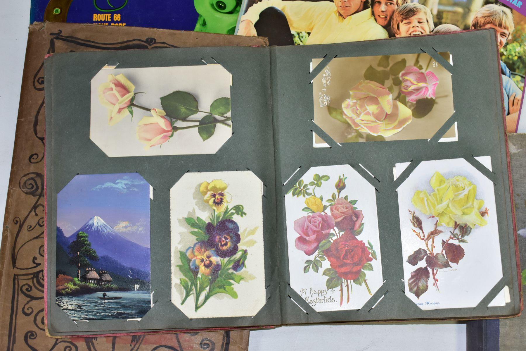 EPHEMERA, once box containing three Edwardian Postcard Albums (approximately 325 postcards), to - Image 14 of 23