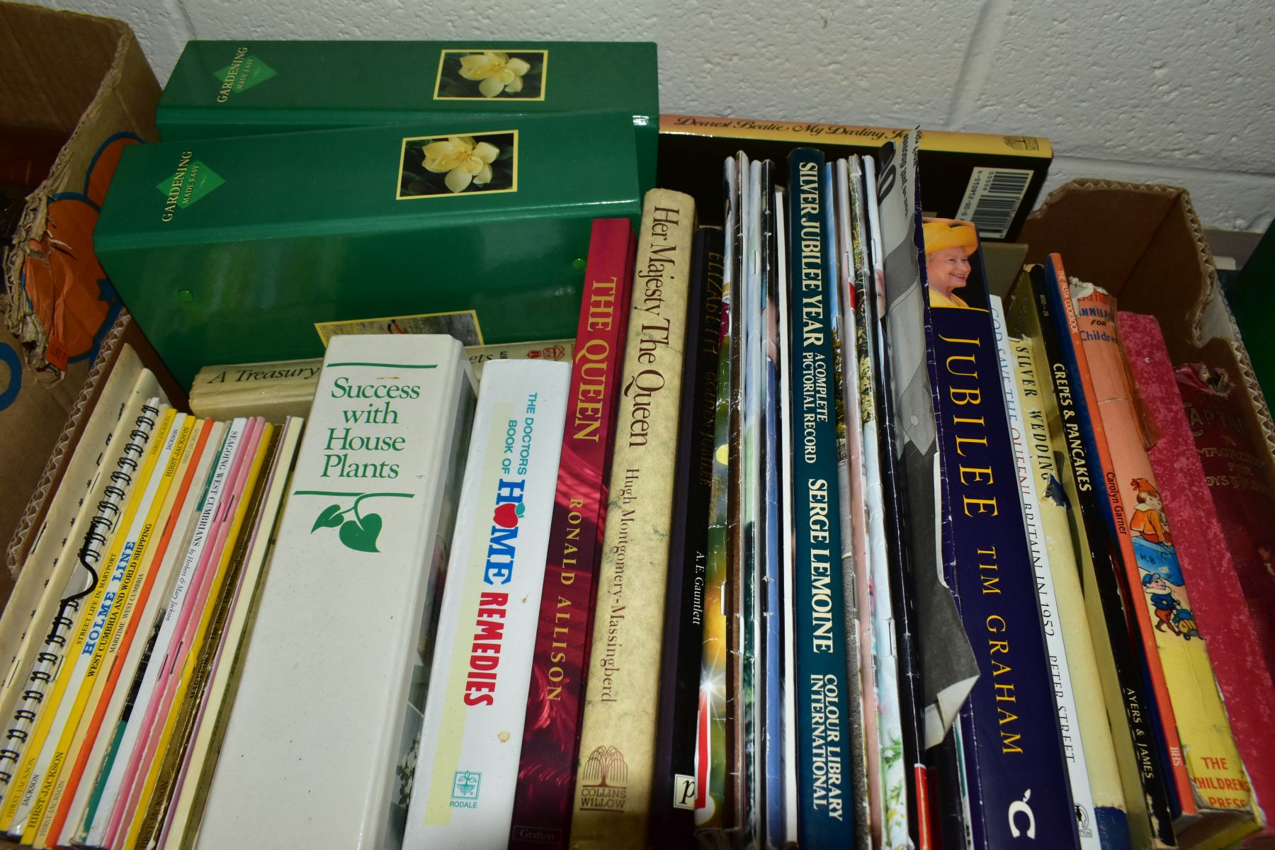 BOOKS, six boxes of over one hundred and twenty five miscellaneous titles to include Royal - Image 8 of 9