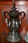 PORTMEIRION POTTERY LIMITED EDITION REPLICA OF THE F.A. CUP, a scale replica of the Football