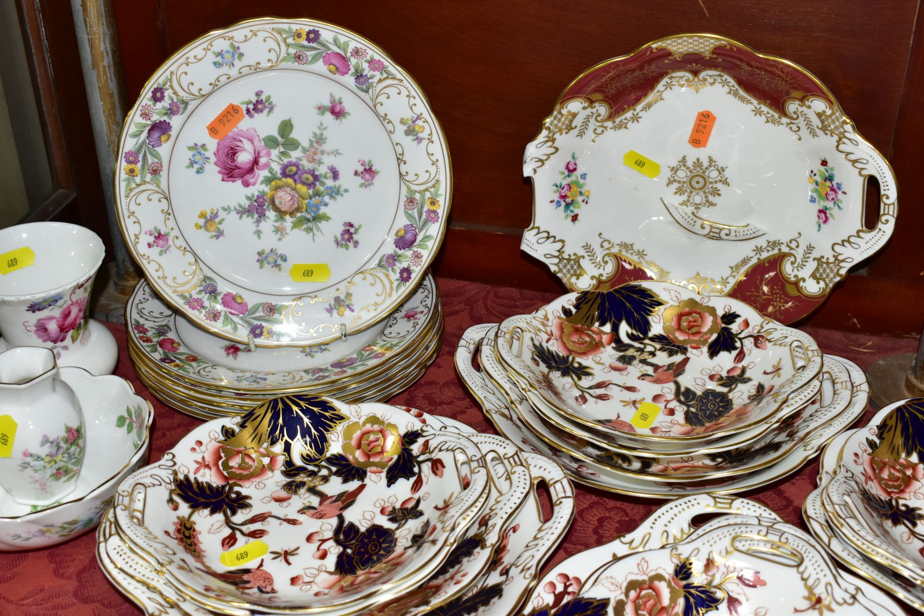 DECORATIVE CERAMICS, ETC, to include Royal Crown Derby 'Derby Posies' pintrays trinket box, - Image 5 of 13