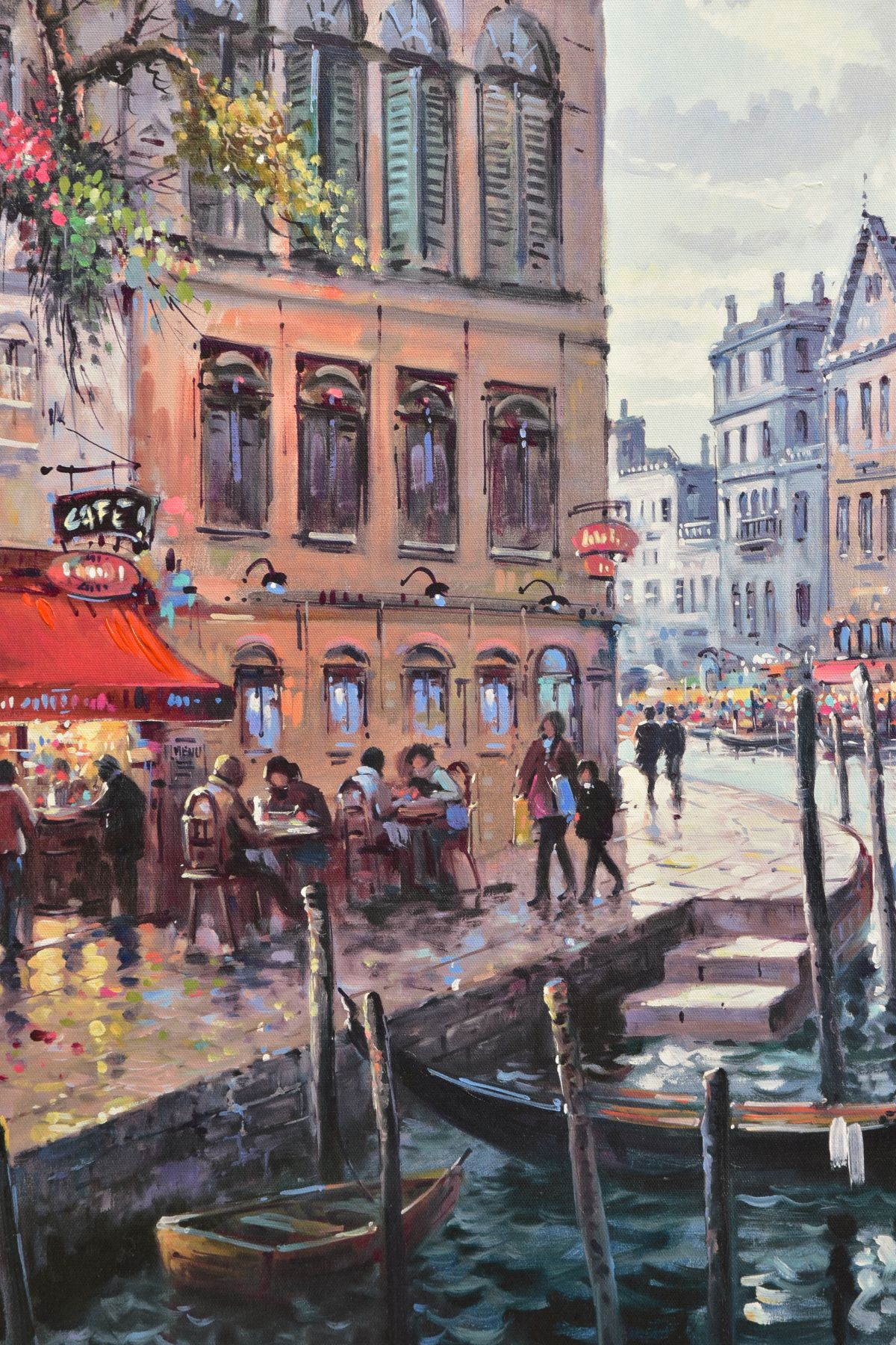 HENDERSON CISZ (BRAZIL 1960) 'DREAMING OF VENICE' a limited edition print 55/95, a Venetian - Image 2 of 6