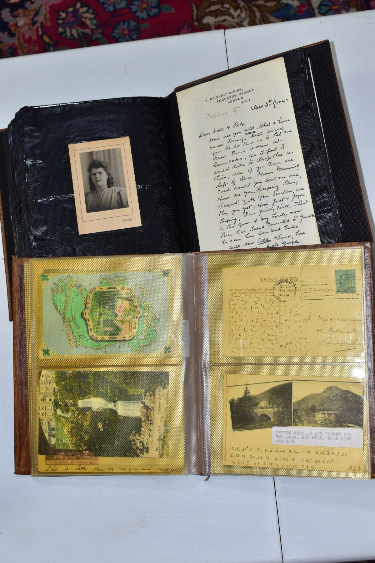 EPHEMERA AND POSTAL HISTORY, three albums containing an unusual collection of Arms and Crests, - Image 7 of 8