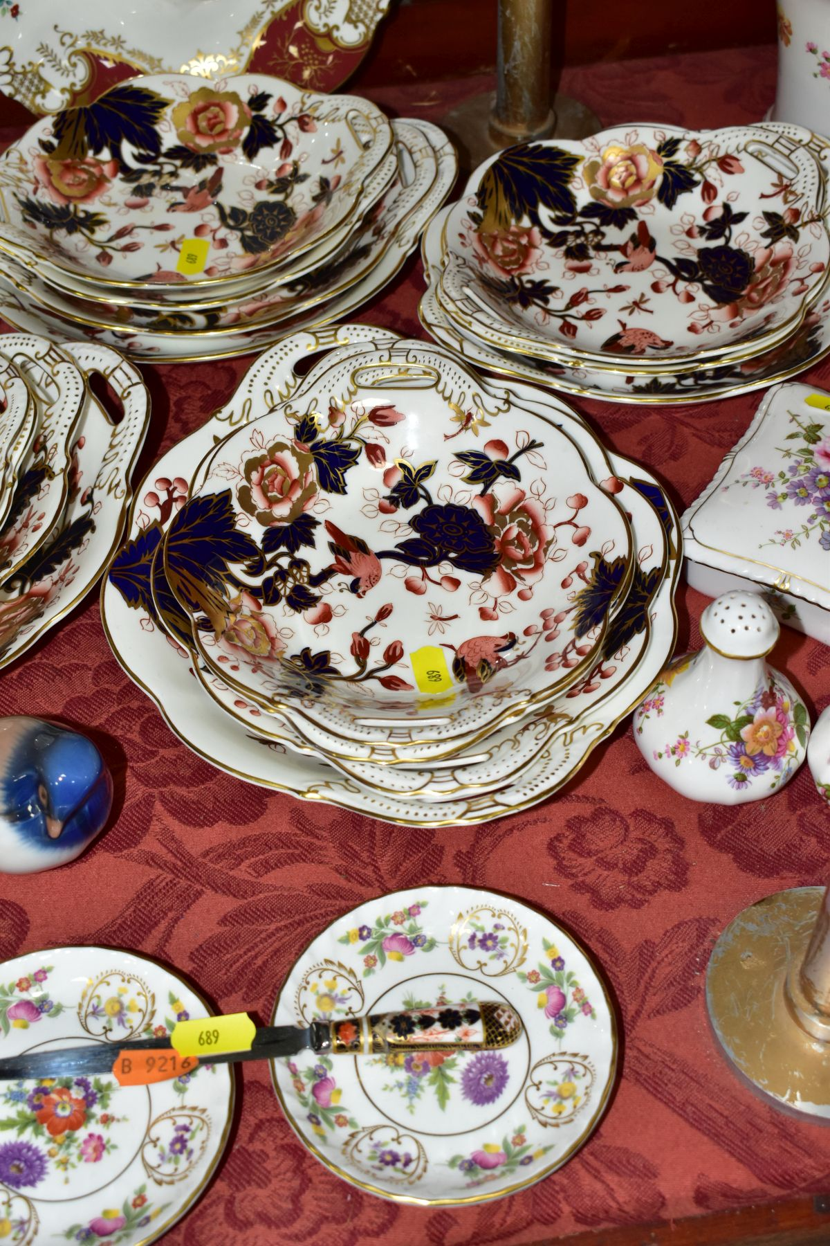 DECORATIVE CERAMICS, ETC, to include Royal Crown Derby 'Derby Posies' pintrays trinket box, - Image 4 of 13