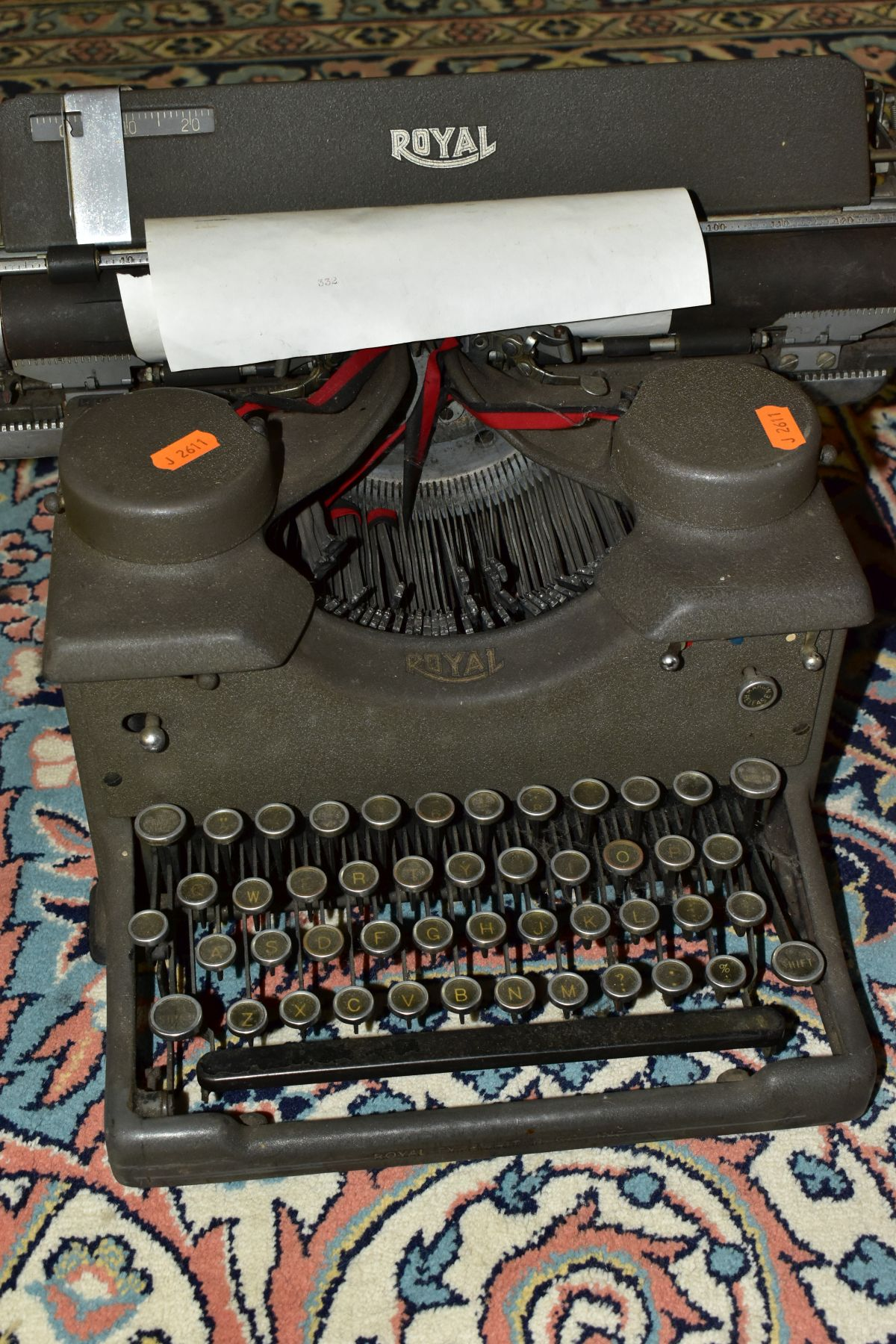 BINOCULARS, CAMERAS AND TYPEWRITER, ETC, to include a pair of Kershaw military prism No.2 MKIII - Image 8 of 9