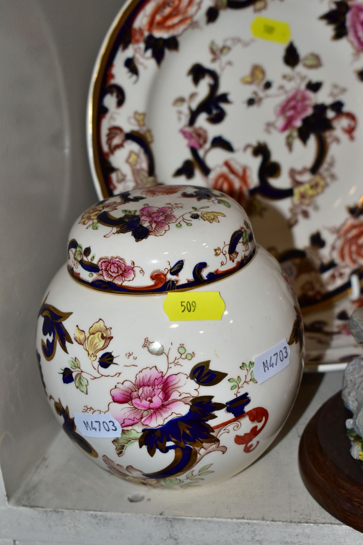 DECORATIVE CERAMICS ETC, to include a boxed Beswick Peter Rabbit, Royal Albert 'Tom Kitten' plate, - Image 7 of 11