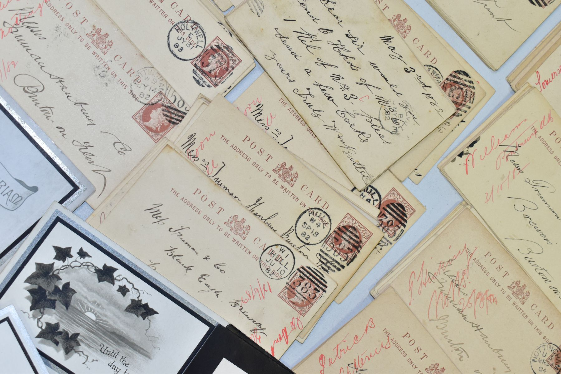TRUMAN, HANBURY, BUXTON & CO, a collection of over three hundred postcards relating to orders for - Image 3 of 4