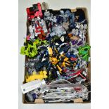 A COLLECTION OF ASSORTED TRANSFORMER FIGURES, assorted series to include Dark of the Moon, Prime &