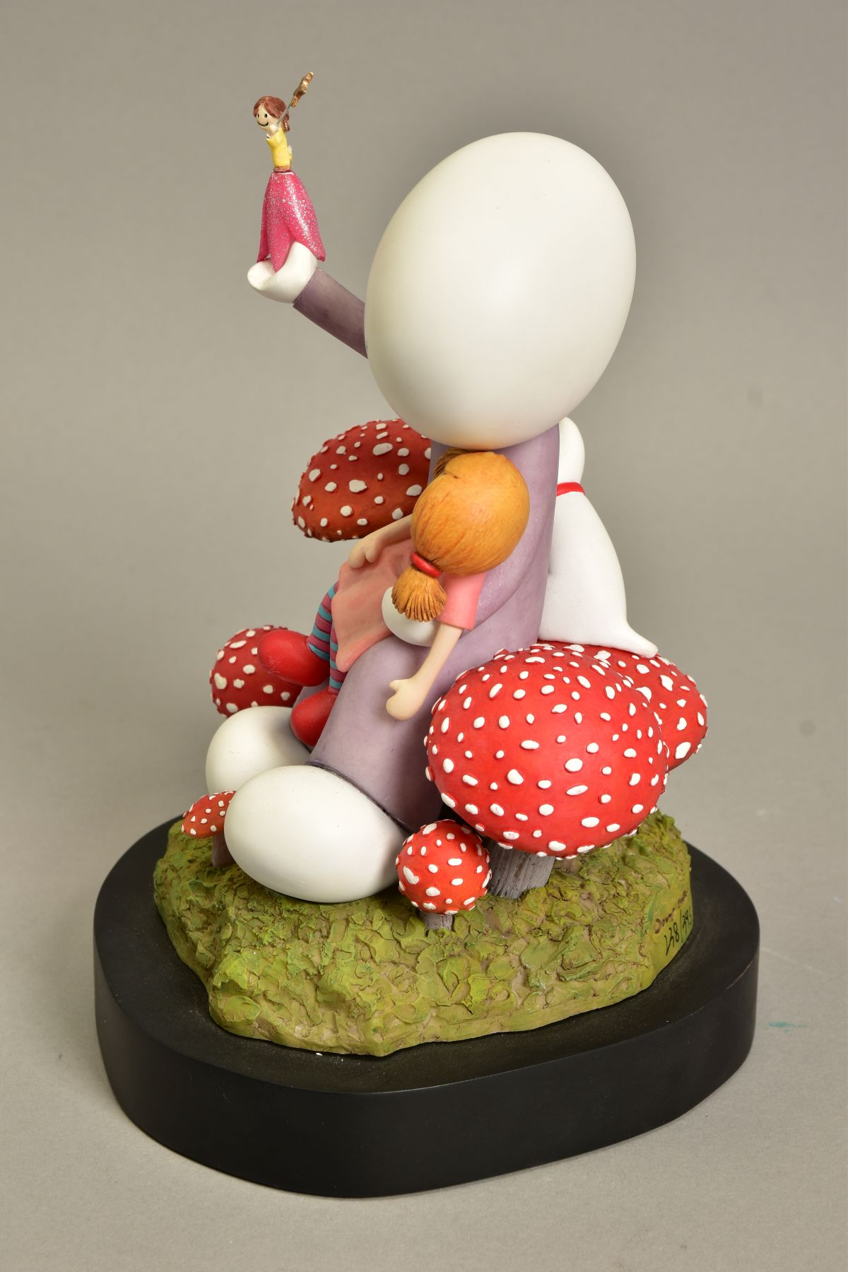 DOUG HYDE (BRITISH 1972) 'MAKE A WISH', limited edition sculpture of a girl and her doll, - Image 5 of 10