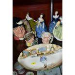 ROYAL DOULTON CERAMICS, comprising four figural sculptures 'Lynne' HN2329, 'Adrienne' HN2304, '