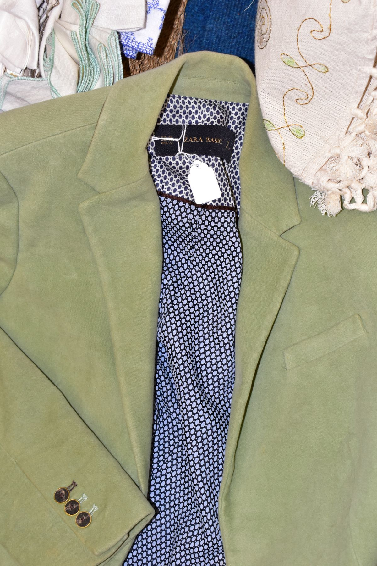 LADIES CLOTHING ETC, to include Planet trouser suit and jacket and skirt both size 12, Zara Basic - Image 3 of 9