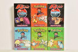 SIX POKEMON TEAM ROCKET THEME DECKS AND BASE SET 2 THEME DECKS, Pokemon Trouble, Devastation,