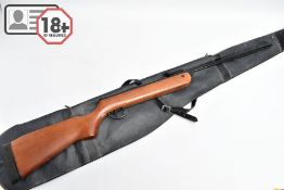 A .22'' B.S.A. METEOR AIR RIFLE serial number TH66665, some areas of varnish loss to stock and