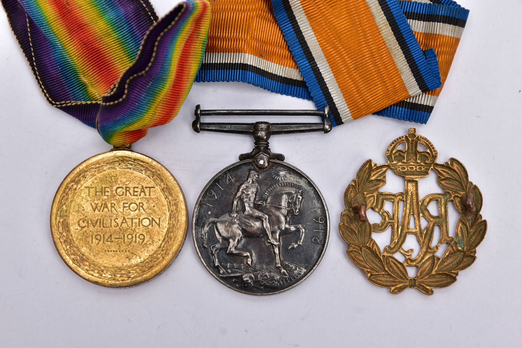 A BRITISH WAR AND VICTORY MEDAL PAIR, named to 21085 Pte J.Bradshaw, Manchester Regiment, together - Image 2 of 3