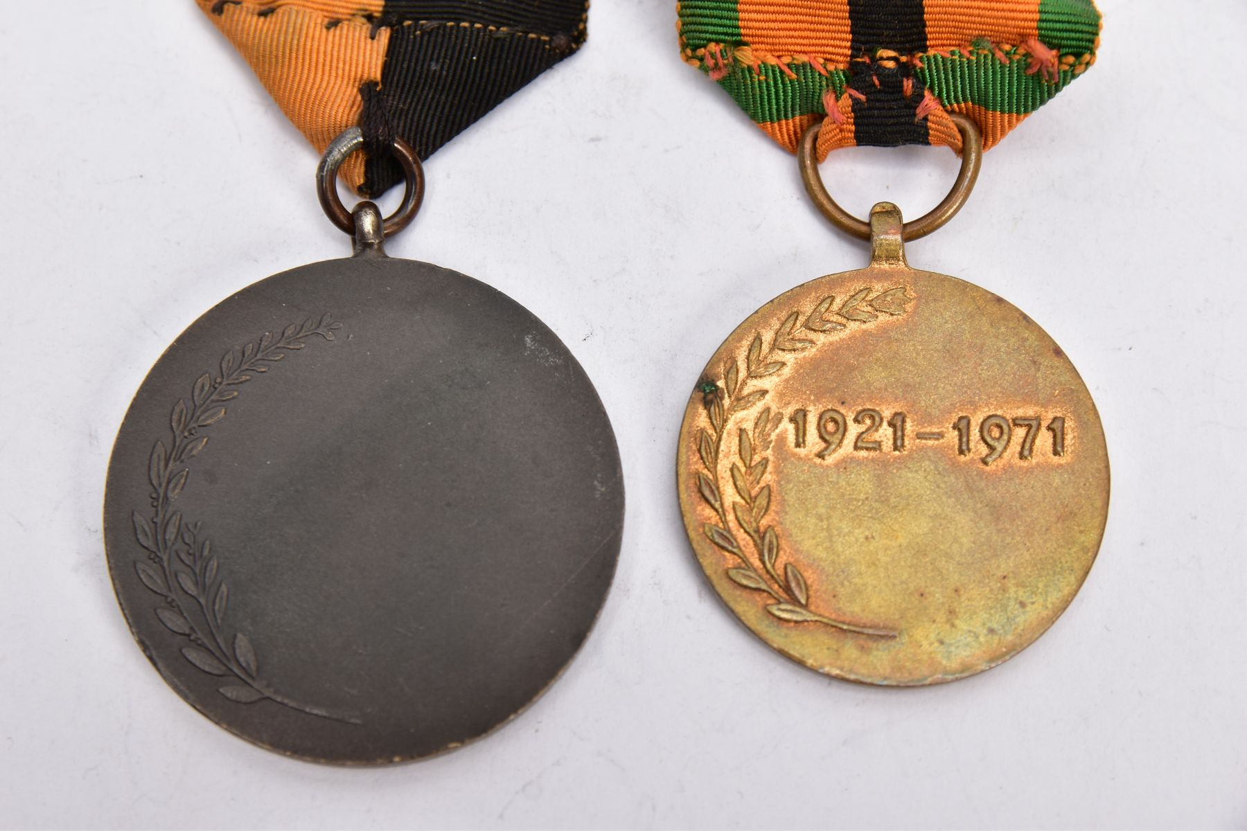 'IRISH WAR OF INDEPENDANCE MEDALS' both with wearing bar clasps, but believed to be later produced - Image 4 of 4