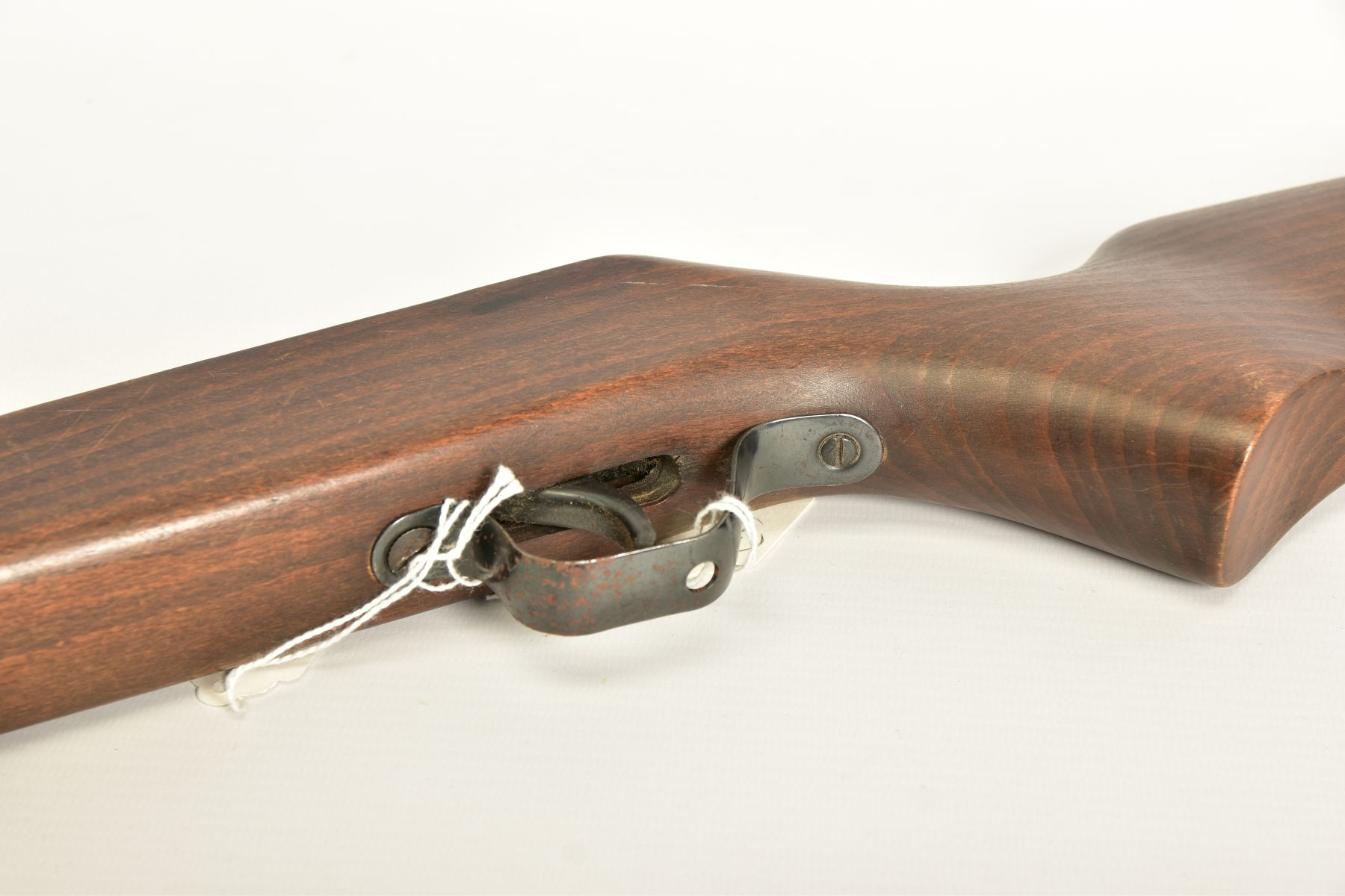A .22'' BREAK ACTION SPRING AIR RIFLE, serial number 05 88 g in working order marked 'Made in - Image 3 of 12