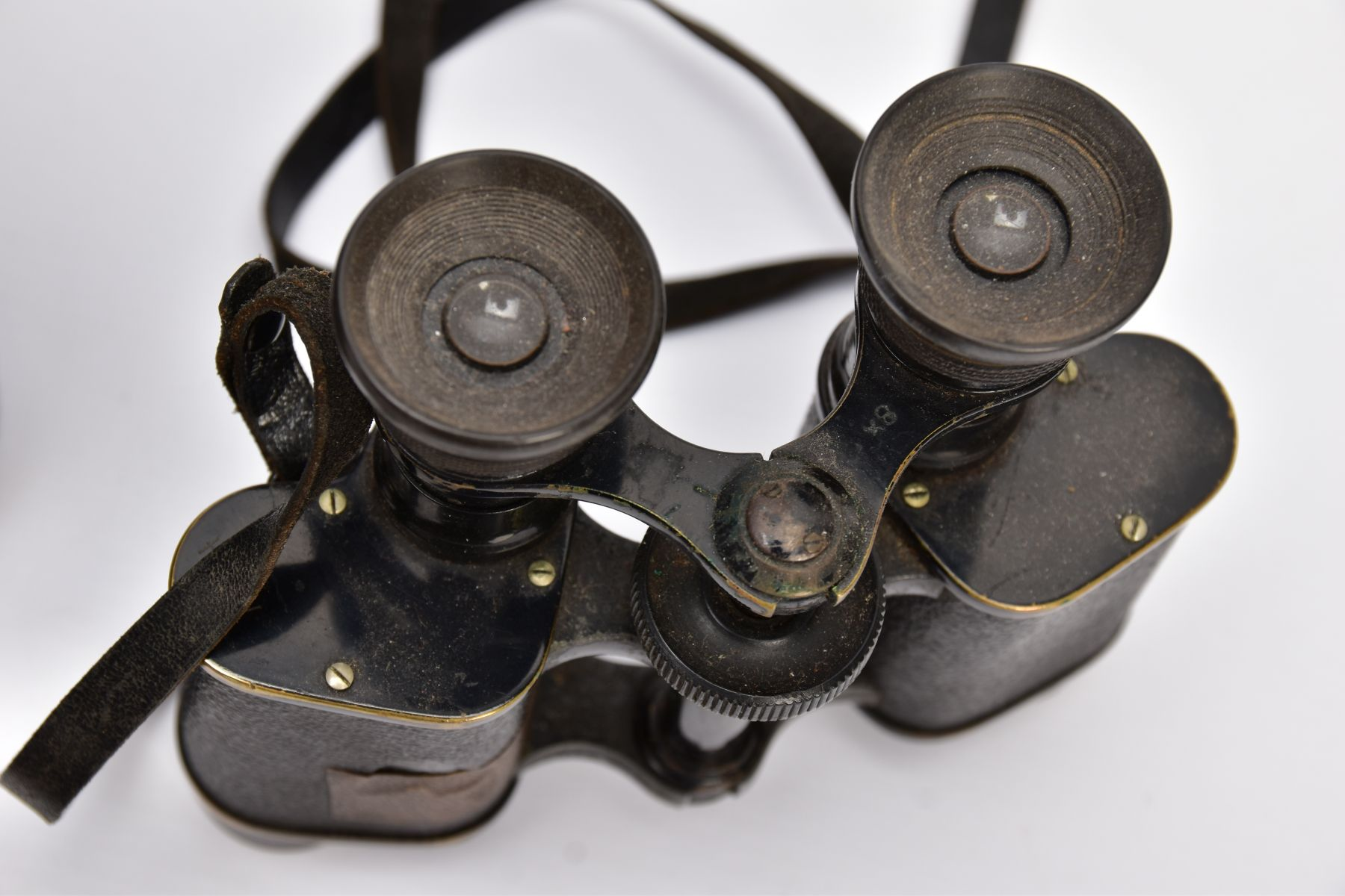 TWO BOXED PAIRS OF MILITARY BINOCULARS, one box marked Bino prism No.5 MKI, the other pair is crow - Image 5 of 8