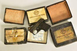 AN ORIGINAL PATTERN .22'' RIM FIRE BLANK, sliding block magazine, top venting Starting pistol by