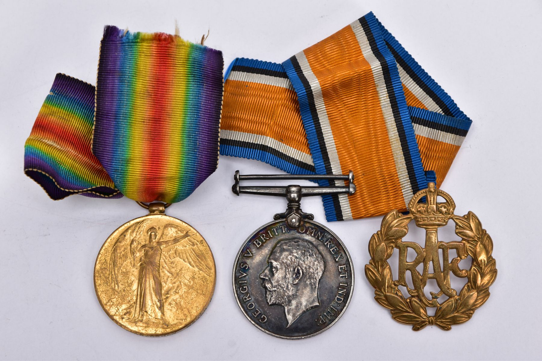 A BRITISH WAR AND VICTORY MEDAL PAIR, named to 21085 Pte J.Bradshaw, Manchester Regiment, together