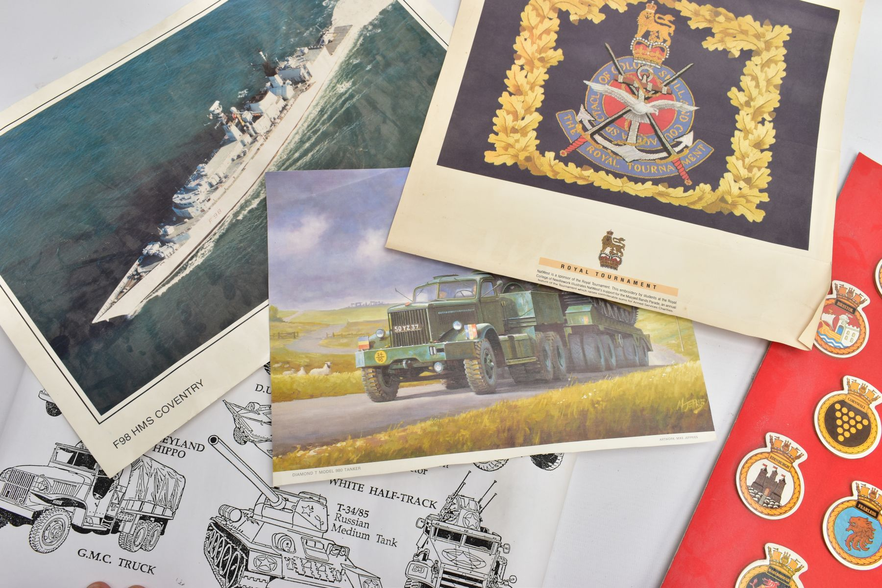 A NUMBER OF WALL POSTERS PRODUCED FOR THE ARMY RECRUITMENT OFFICES which features images of cap - Image 3 of 6