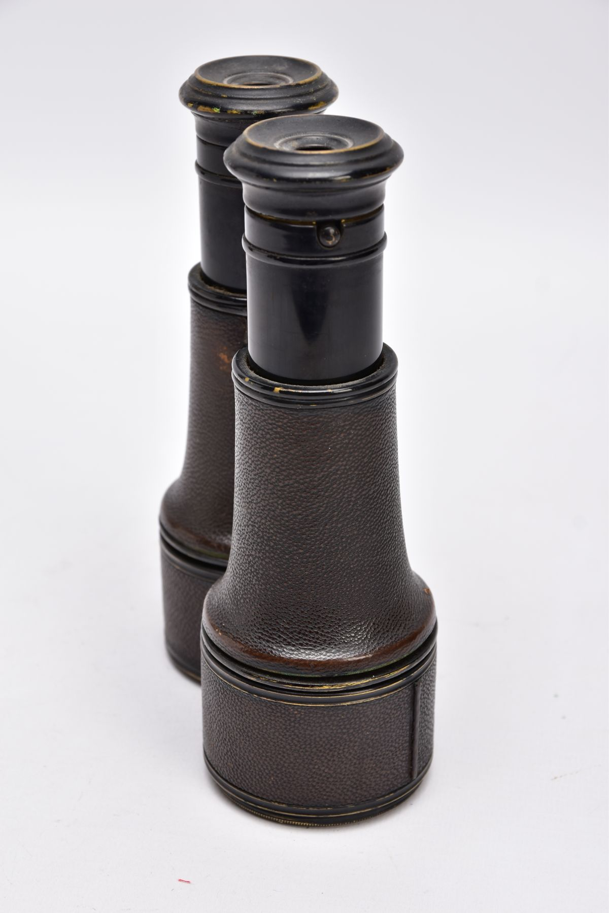 A PAIR OF WWI ERA BINOCULARS likely French manufacture, no makers marks, but they are marked ' - Image 6 of 6