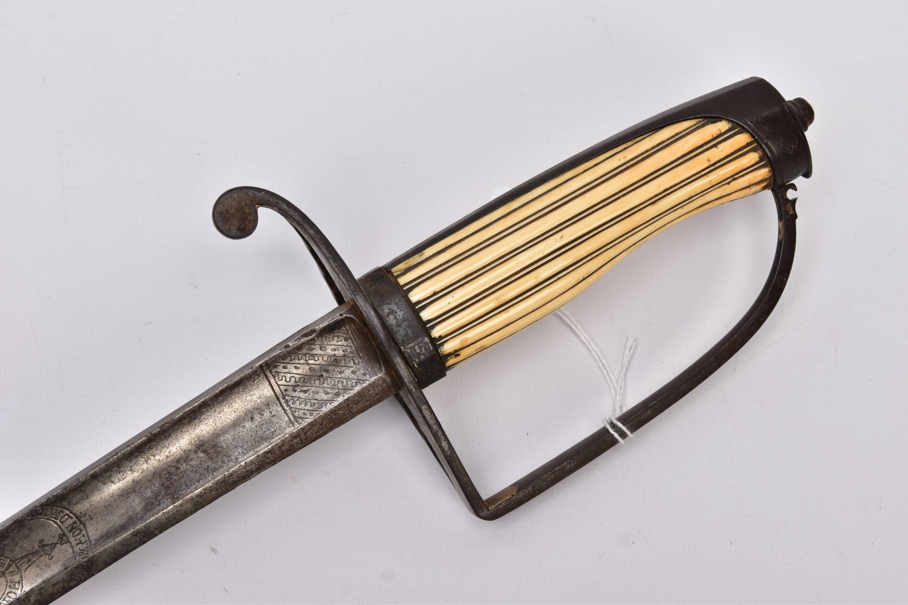A POSSIBLY LATE VICTORIAN MILITARY DRESS SWORD, the blade length is approximately 81cm and is marked - Image 2 of 11