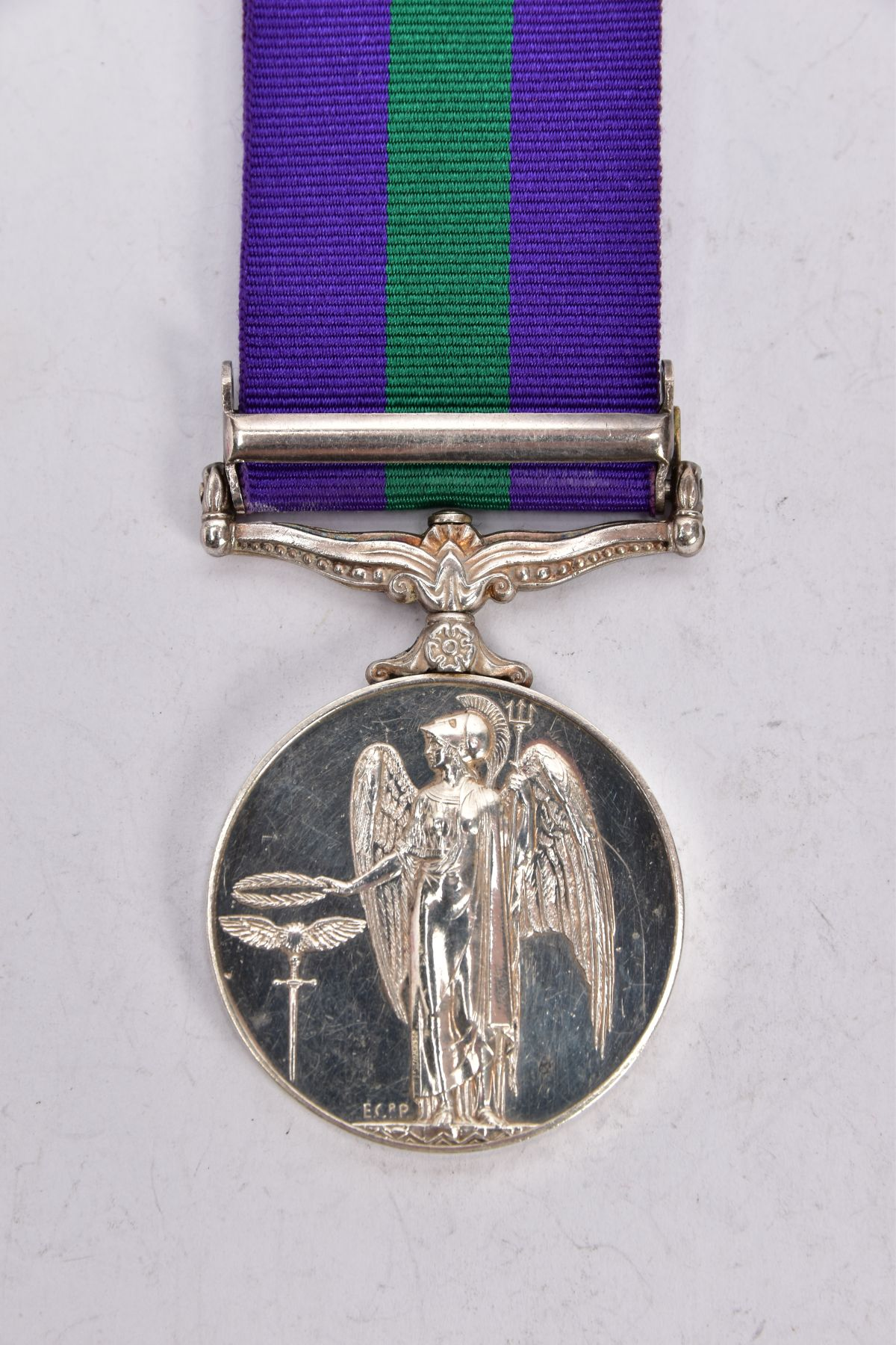 ERII GENERAL SERVICE MEDAL 1918-62 with near East bar named to 4173227 ACI EAG Macey RAF - Image 3 of 4