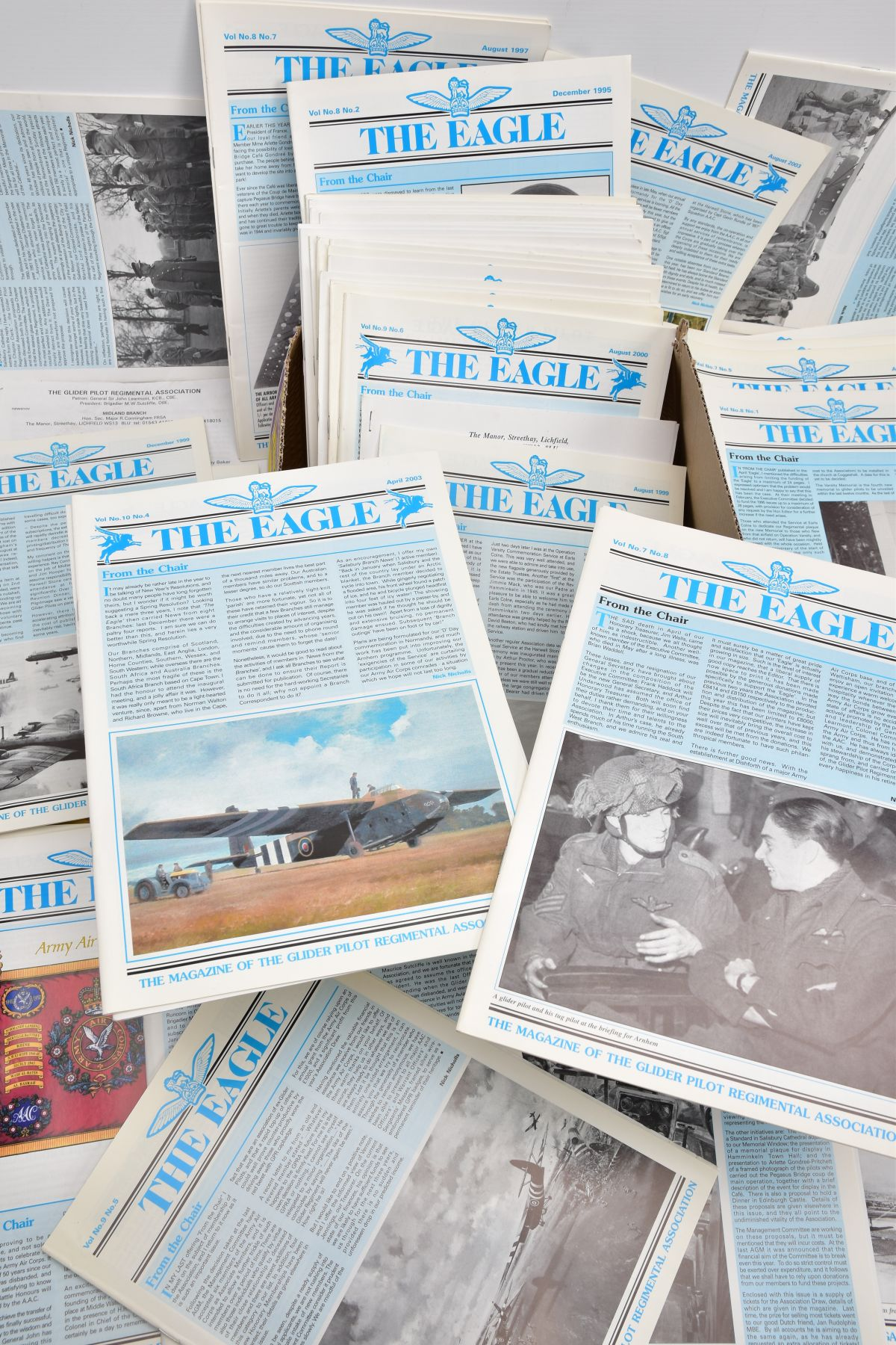 FIFTY SEVEN COPIES 'THE EAGLE', the official magazine of the Glider Pilot Regimental Association, - Image 2 of 2