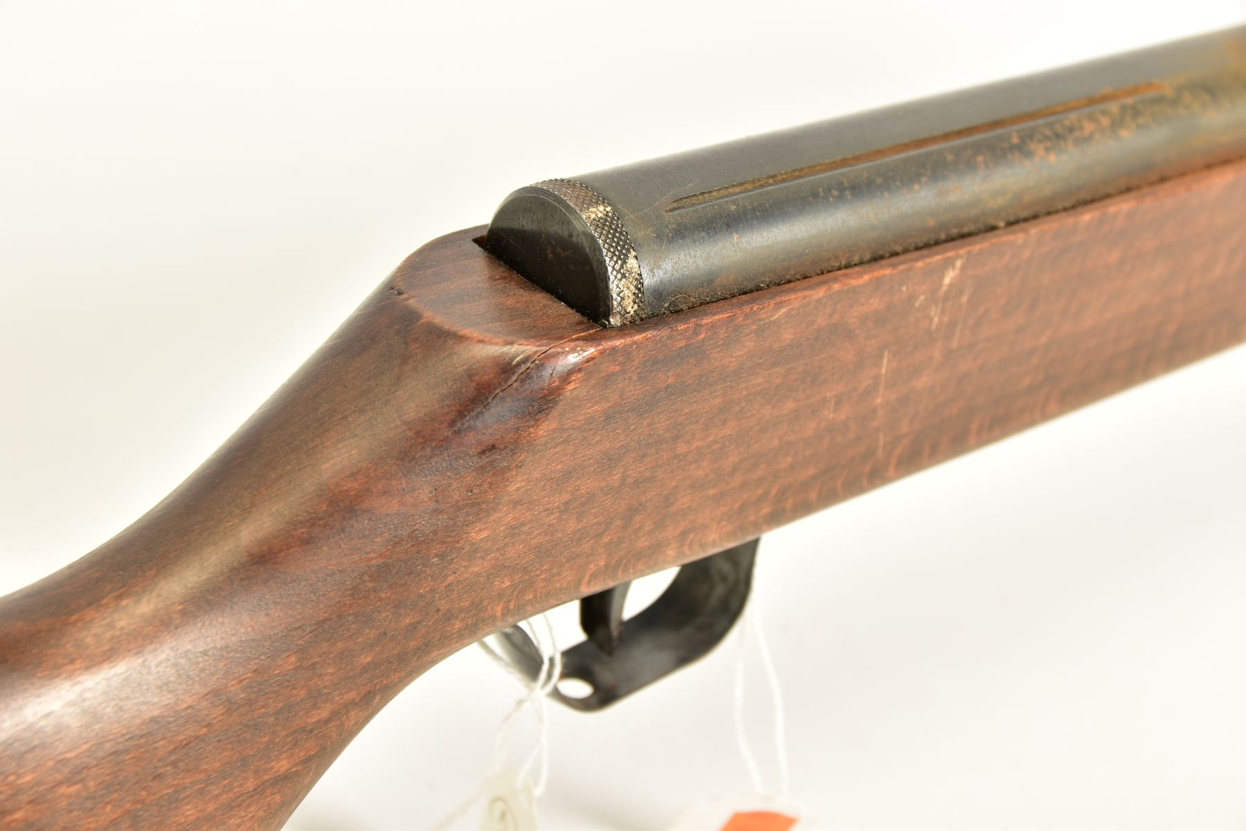 A .22'' BREAK ACTION SPRING AIR RIFLE, serial number 05 88 g in working order marked 'Made in - Image 9 of 12