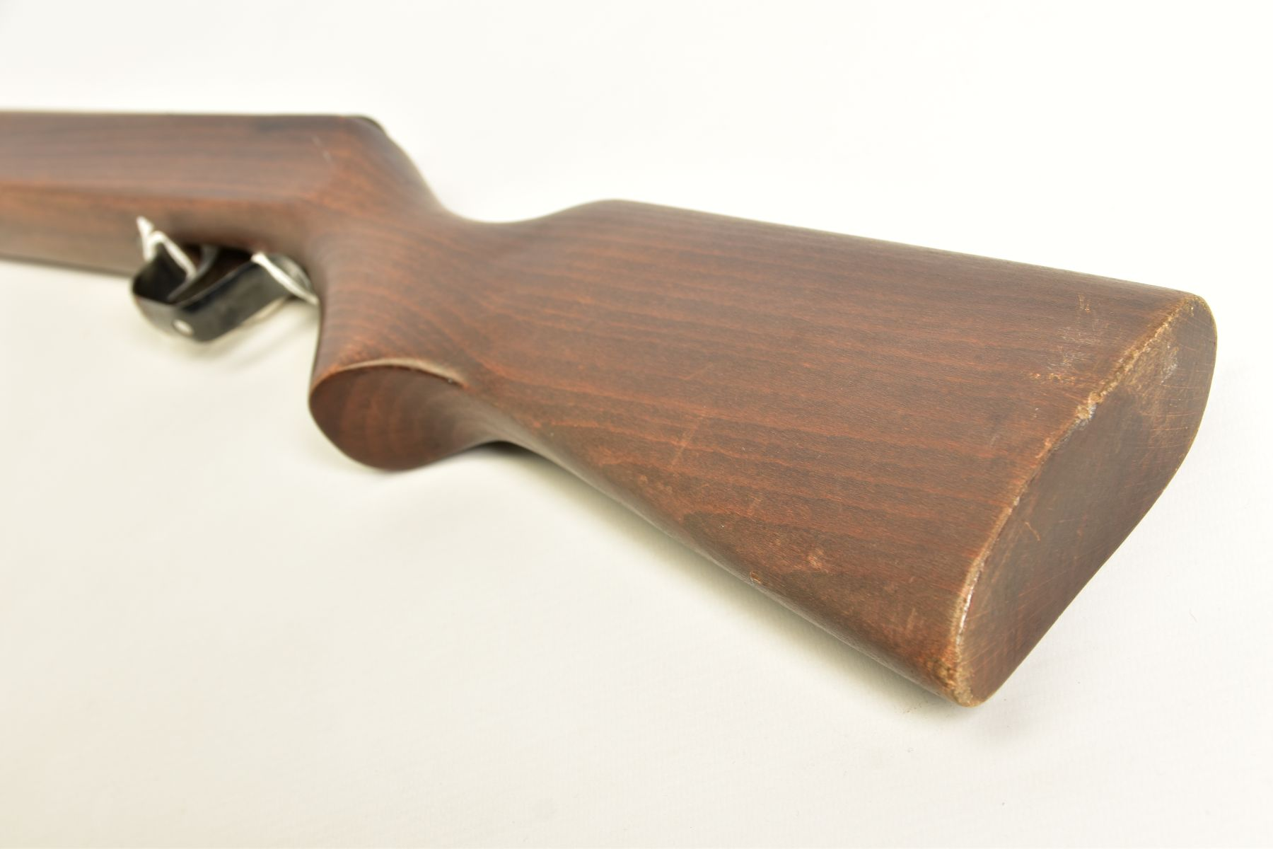 A .22'' BREAK ACTION SPRING AIR RIFLE, serial number 05 88 g in working order marked 'Made in - Image 12 of 12
