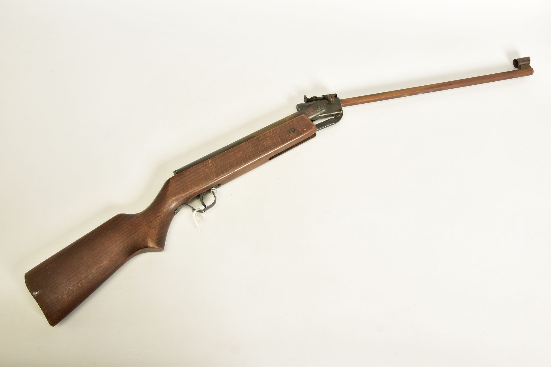 A .22'' BREAK ACTION SPRING AIR RIFLE, serial number 05 88 g in working order marked 'Made in - Image 4 of 12