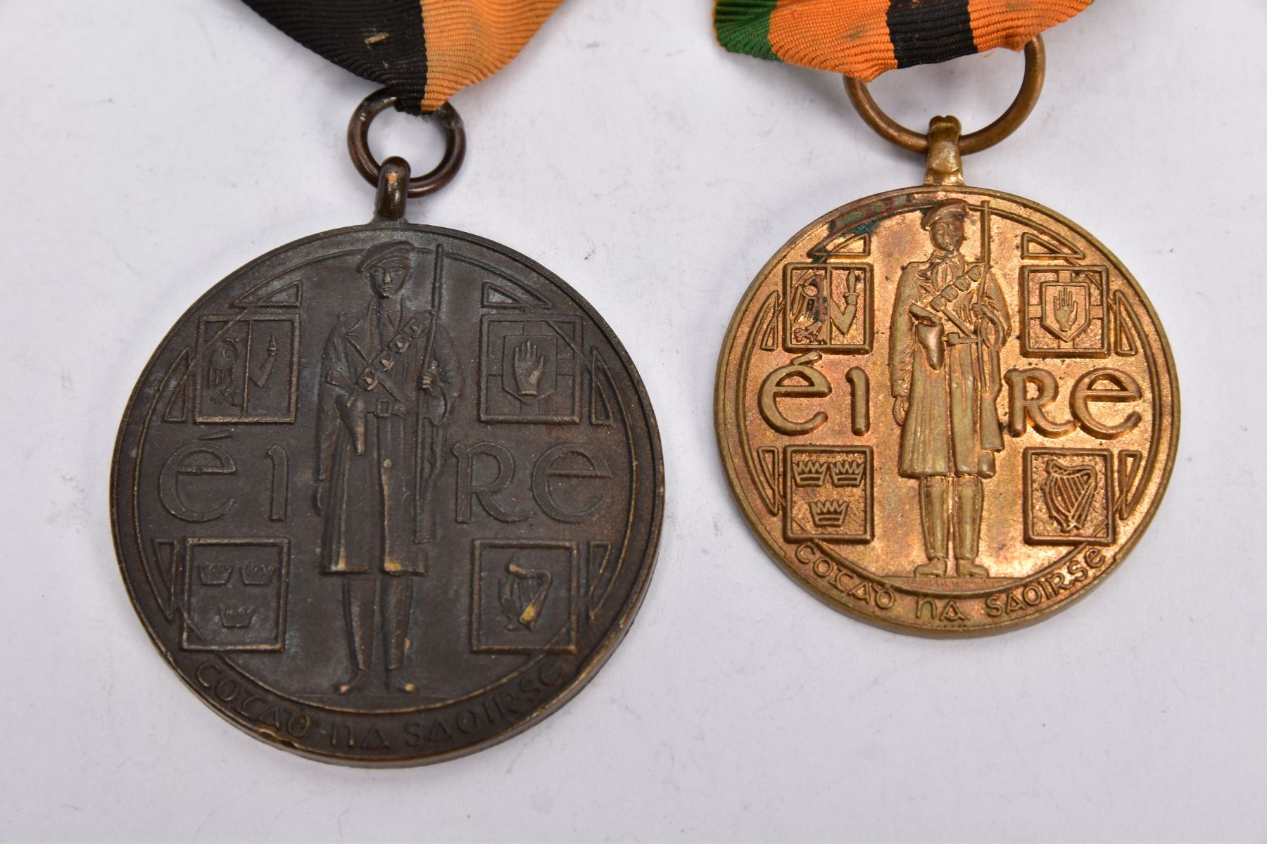 'IRISH WAR OF INDEPENDANCE MEDALS' both with wearing bar clasps, but believed to be later produced - Image 2 of 4