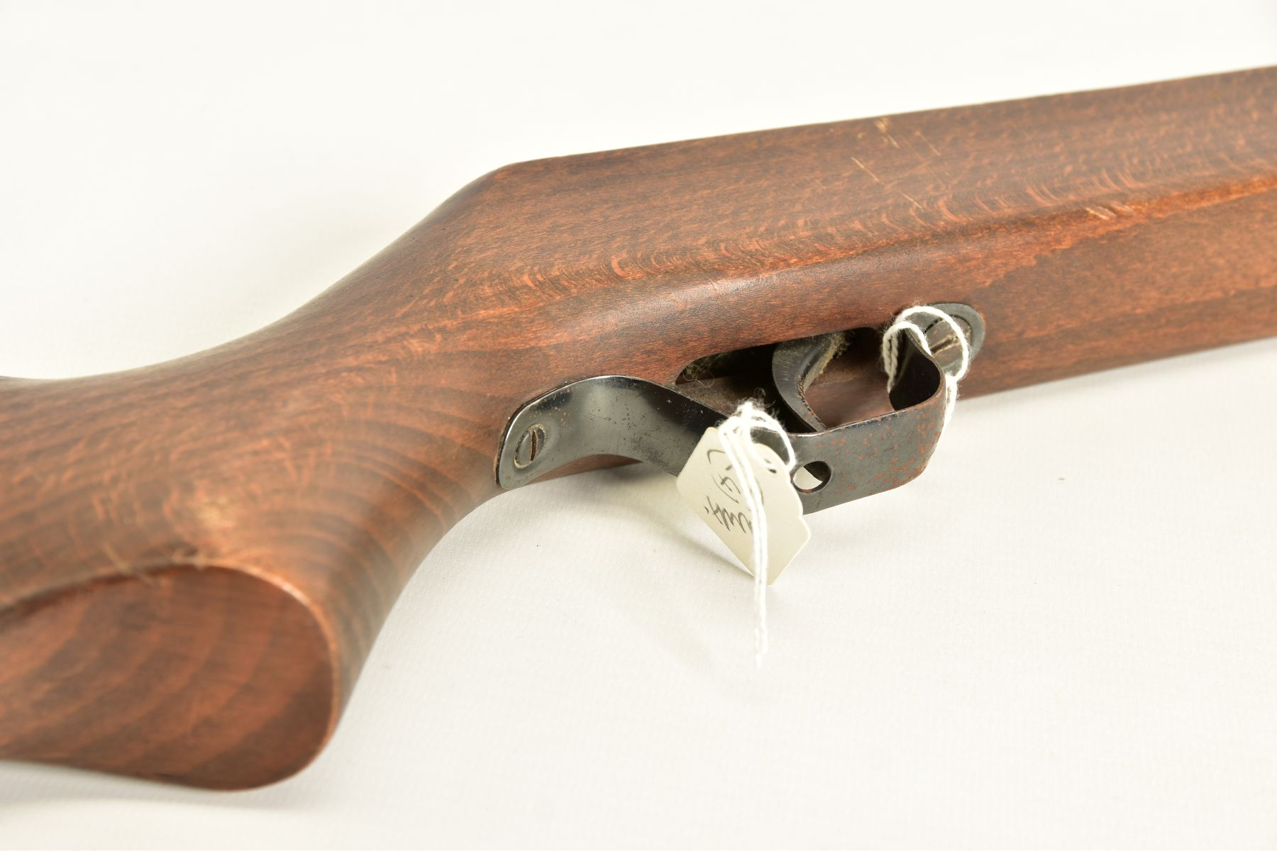 A .22'' BREAK ACTION SPRING AIR RIFLE, serial number 05 88 g in working order marked 'Made in - Image 6 of 12