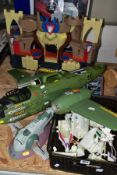 ASSORTED TOYS ETC, to include a Fisher-Price Lions Den Castle Kingdom, Airfix Battle Cruiser with