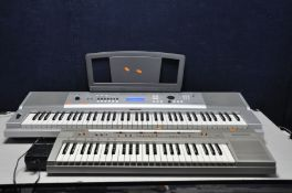 A YAMAHA DGX-230 PORTABLE GRAND KEYBOARD with power supply (PAT pass and working) and a Casio