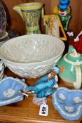 ROYAL WORCESTER, WEDGWOOD JASPERWARE, SUSIE COPPER, SPODE AND OTHER CERAMICS, including Royal