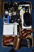 PHOTOGRAPHIC AND ELECTRONIC EQUIPMENT etc, to include a Zeiss Ikon 35mm Contaflex camera with Pantar