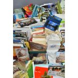 POSTCARDS, a large collection of mostly modern postcards (1000's) from the UK, Europe and Worldwide,
