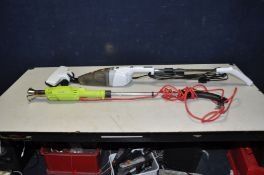 A GARDEN GEAR WEED BURNER and a Bush Upright stick Vacuum Cleaner( both PAT pass and working)