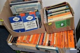 FOUR BOXES OF HARDBACK AND PAPERBACK BOOKS including Penguin paperbacks, art and artist related