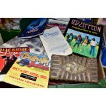TOUR PROGRAMMES: LED ZEPPELIN AT KNEBWORTH 1979 AND PINK FLOYD, THE WALL, PERFORMED LIVE, included