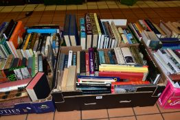 BOOKS, approximately 170 history titles in six boxes consisting of encyclopaedic works, ancient