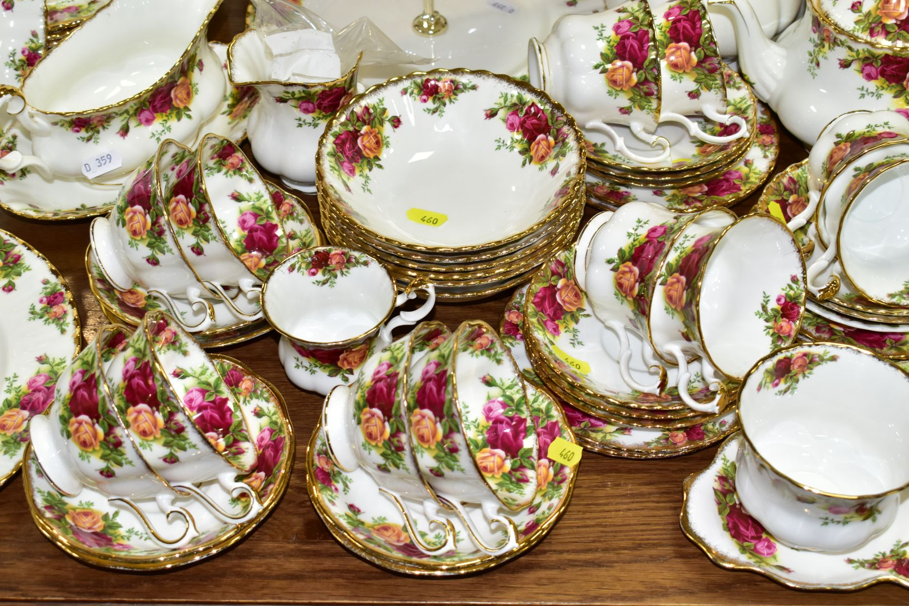 ROYAL ALBERT 'OLD COUNTRY ROSES' DINNER/TEA WARES, NOVELTY TEAPOTS AND TRINKETS, comprising two - Image 3 of 12