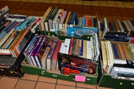BOOKS, approximately one hundred and seventy five History titles in six boxes consisting of