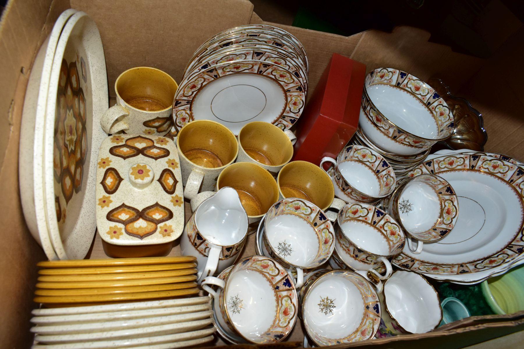 CERAMICS AND GLASS ETC, to include Melba Bone China teawares, Pallissy Casual tableware, Kalabar - Image 4 of 8