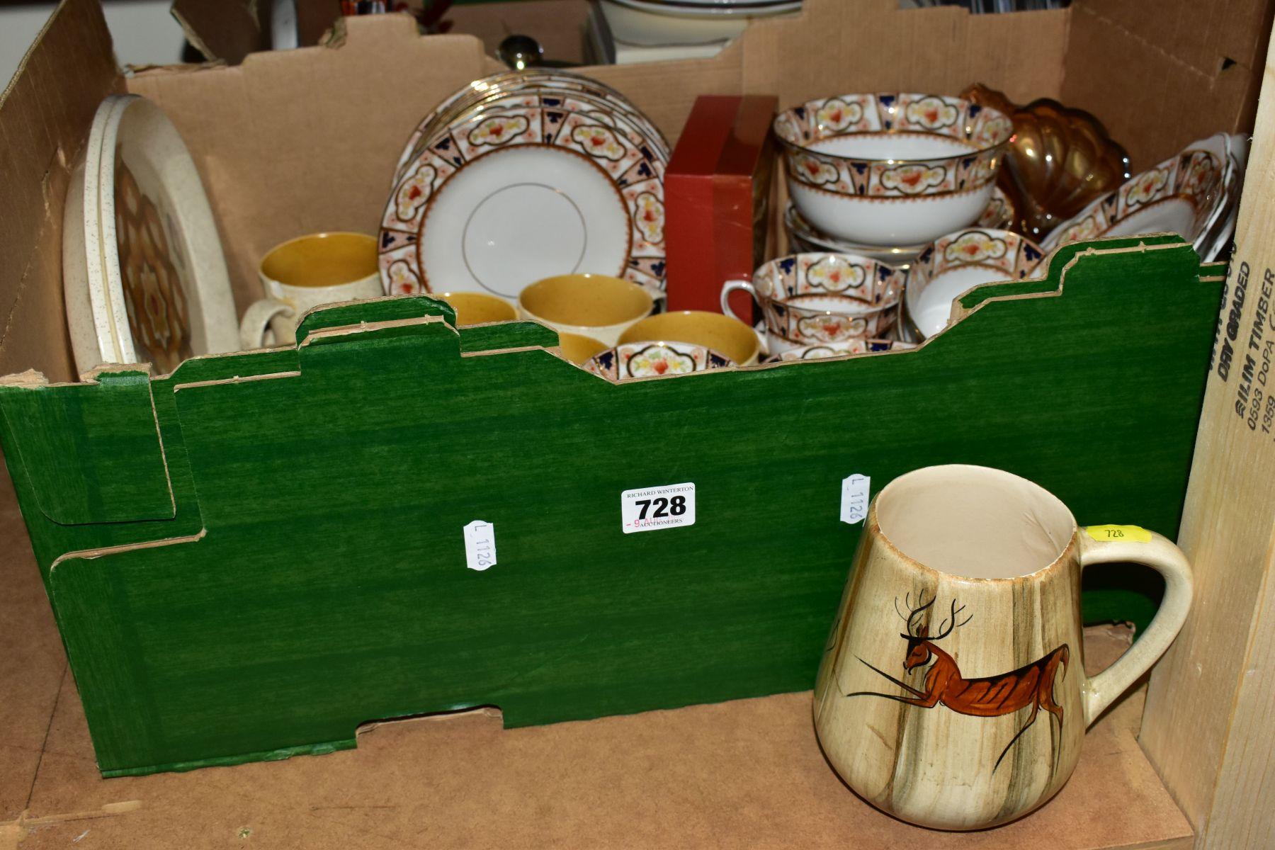 CERAMICS AND GLASS ETC, to include Melba Bone China teawares, Pallissy Casual tableware, Kalabar