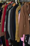 LADIES AND MENS WEAR, including ladies Windsmoor jacket size 14, Eastex coat size 14, Tricoville